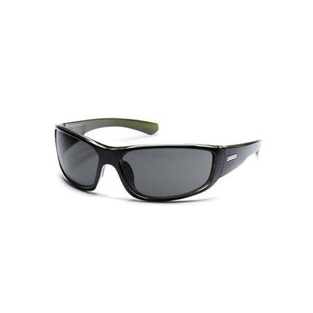 480f2f9e90 Suncloud - Optics Pursuit Polarized Sunglasses (Black Backpaint   Gray  Polarized Polycarbonate) - Walmart.com