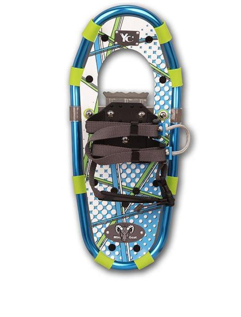 Yukon Charlies Jr. Series Aluminum Youth Snowshoes 7x16in. Ballistic Blue (Blue, OSFM) by Yukon Charlies