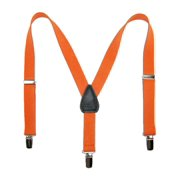 Size one size Kid's Elastic Solid Color Y-Back Clip-End Suspenders