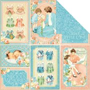 Precious Memories Double-Sided Cardstock 12 Inch X 12 Inch-Pat-A-C
