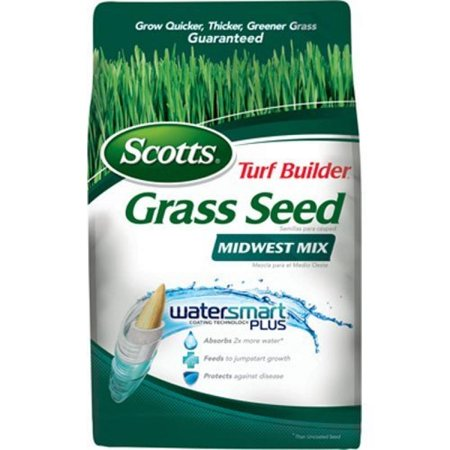 Scotts Lawns 17943 7-Lbs. Turf Builder Midwest Grass Seed