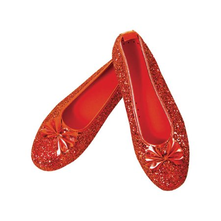 Adult Deluxe Dorothy Shoes Rubies 6316 6478](Dorothy Shoes)