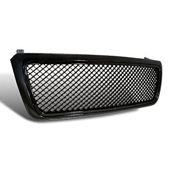 Spec-D Tuning HG-F15004JM Ford F150 F-150 Fx4 Lariat Stx Svt Lighting+Black Mesh Grille
