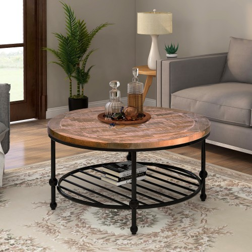 roundrectangle coffee table rustic natural coffee table
