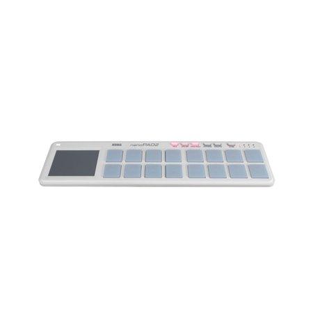 Korg nanoPAD2 USB Midi Pad Controller in White (Korg Drum Pad)