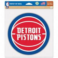 """Detroit Pistons 8"""" Color Team Logo Car Decal"""