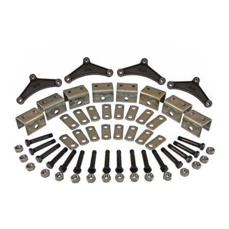 Triple Axle Hanger - Spring Hanger Kit for Triple Axles