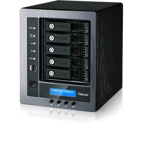 Thecus N5810 5-Bay SAN/NAS Tower Server w/ Intel Celeron J1900 & 4GB RAM