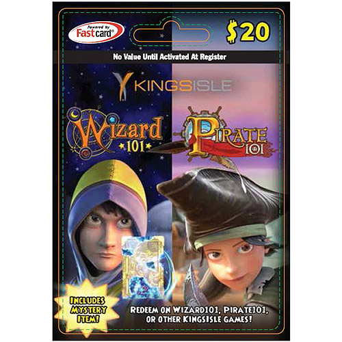 Kingsisle Combo Card (Wizard101 / Pirate101) $20