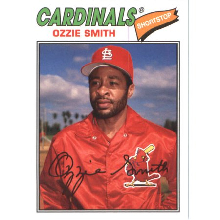 Ozzie Smith Baseball Card - 2018 Topps Archives #171 Ozzie Smith St. Louis Cardinals Baseball Card