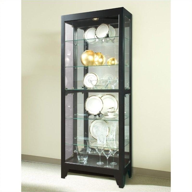 Pulaski Onyx Curio Cabinet - Walmart.com