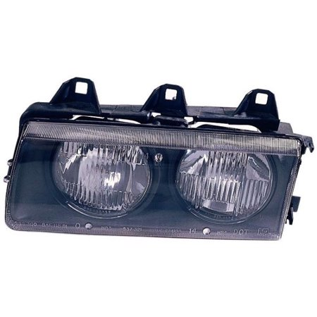 Go-Parts » 1992 - 1995 BMW 325i Front Headlight Headlamp Assembly Front Housing / Lens / Cover - Left (Driver) Side 63 12 1 468 865 BM2502101 Replacement For BMW 325i