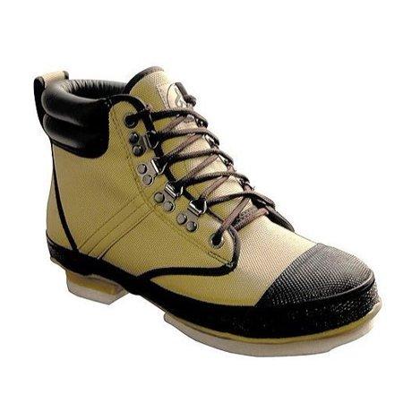 Pro Line Men's W295D Nylon Wading Boots with Felt Outsole, 7 Tan US ()