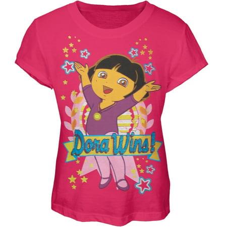 Dora The Explorer - Dora Wins Girls Youth - The Explorer Girls