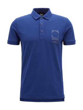 4bc07986 Product Image Hugo Boss BOSS Orange Men's World Cup Soccer Country Polo  Shirt, USA, Small