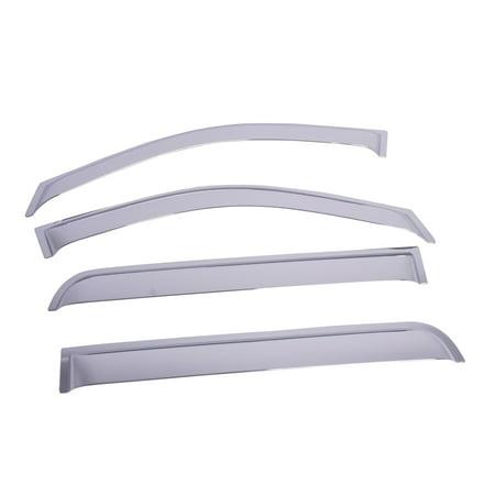 EGR 641224 SlimLine; Tape-On WindowVisors; Set of 4 2500 Egr Slimline Tape