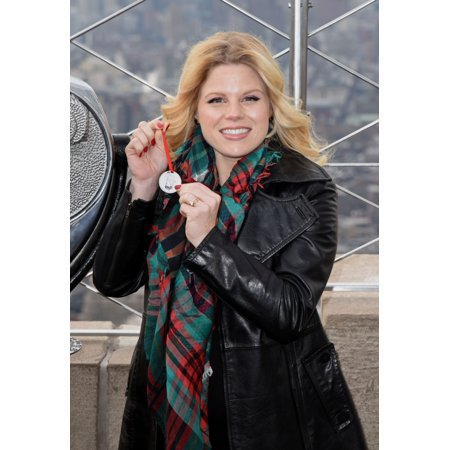 Megan Hilty At Arrivals For Megan Hilty Promotes New Album A Merry Little Christmas Empire State Building New York Ny December 6 2016 Photo By Derek StormEverett Collection - Merry Christmas Photo