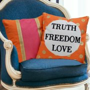 Amrapur Overseas Inc. Eclectic 2 Piece Cotton Throw Pillow
