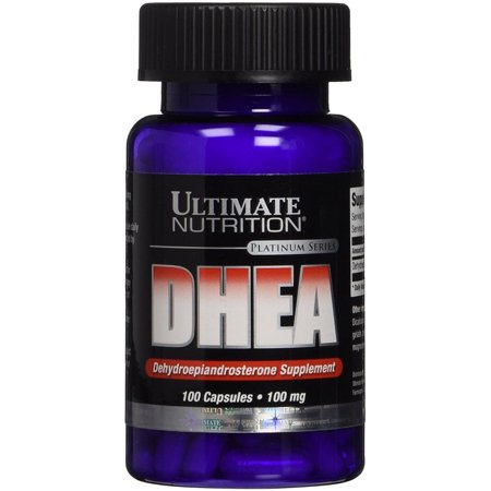 DHEA Ultimate Nutrition - 100 Capsules (DHEA)