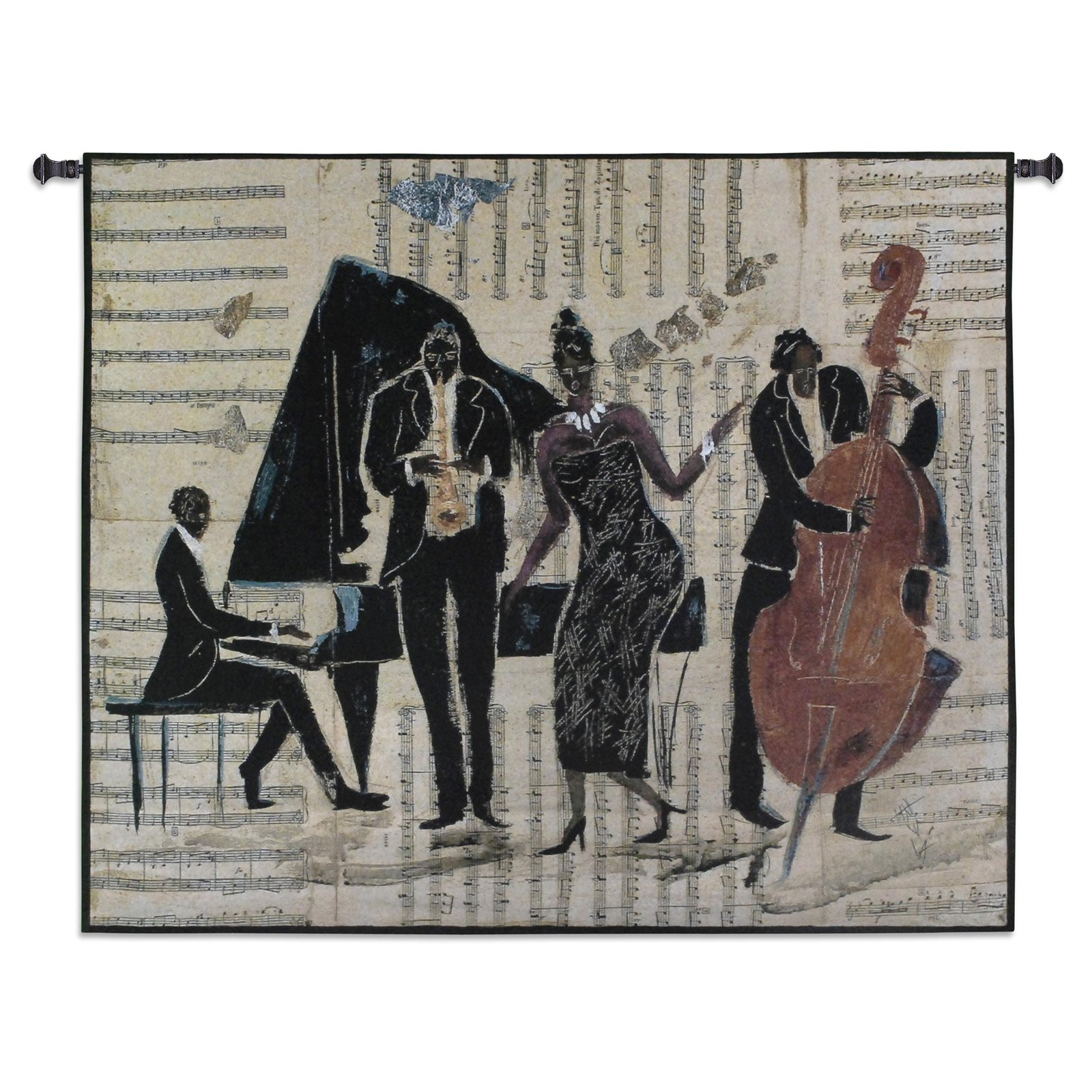Jam Session II Wall Tapestry