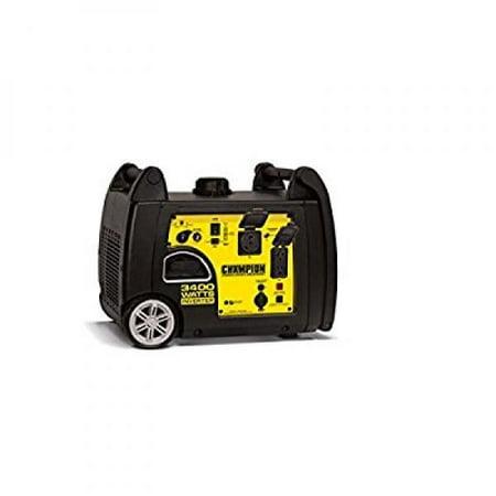 Champion Power Equipment 100233 3400 Watt RV Ready Portable Inverter Generator