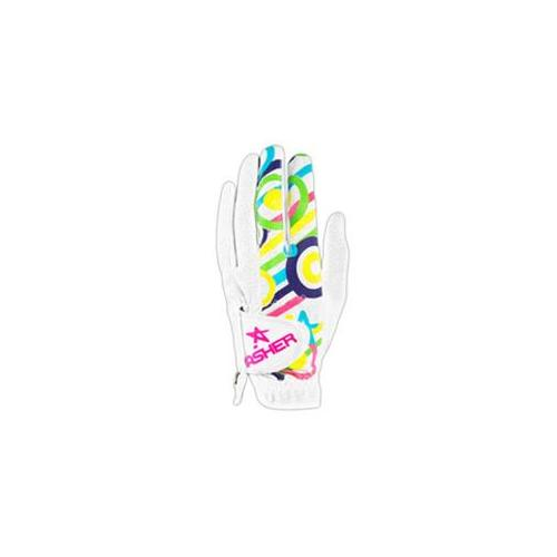 Asher Gloves EC2-LR-S Cooltech Eye Candy Ladies Lefty Small - pack of 2