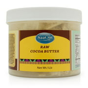 1 Lb of Raw Cocoa Butter By HalalEveryDay Made with Organic Cocoa Butter