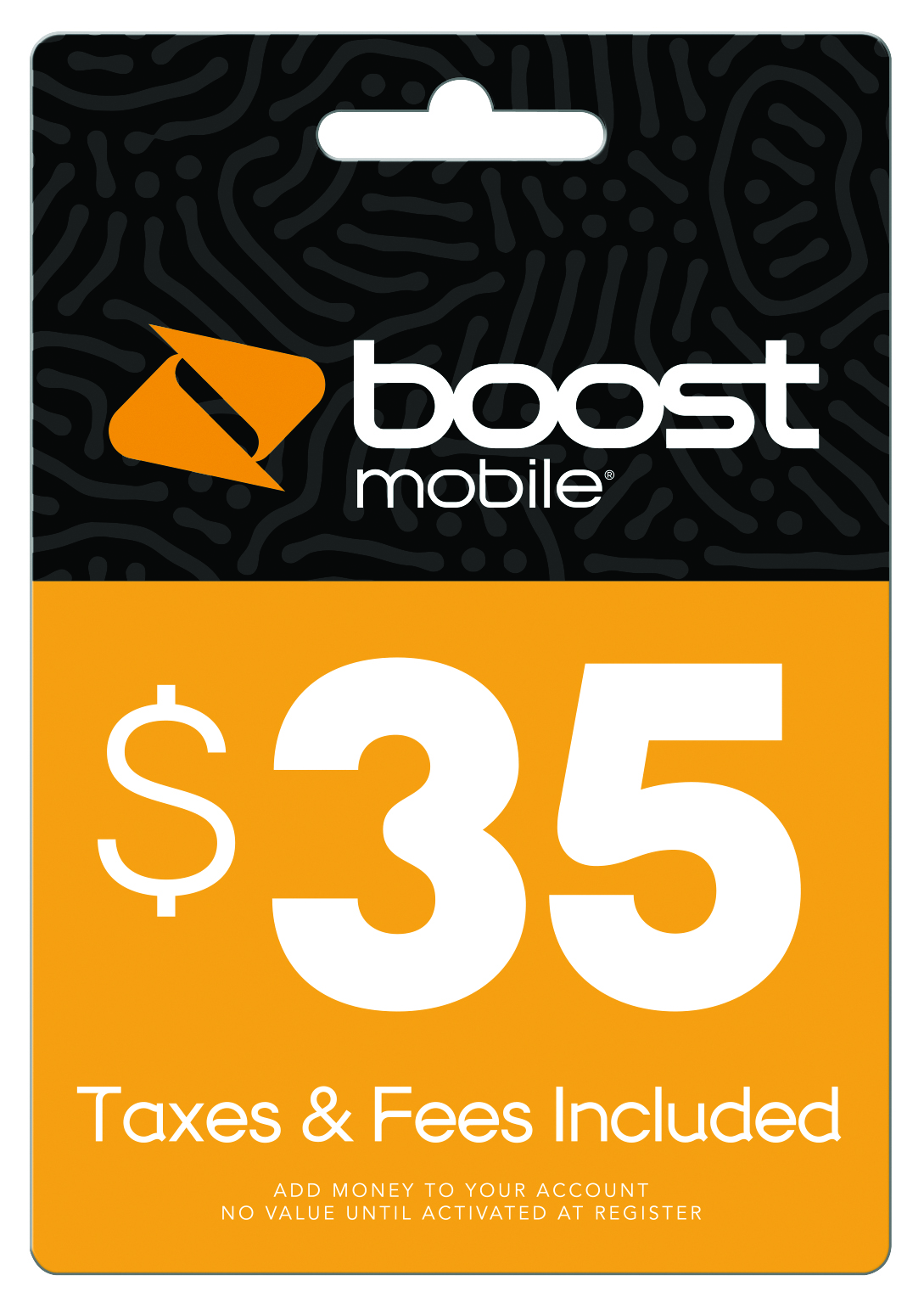 Boost Mobile $35 Re-Boost Card (Email Delivery) by INTERACTIVE COMMUNICATIONS