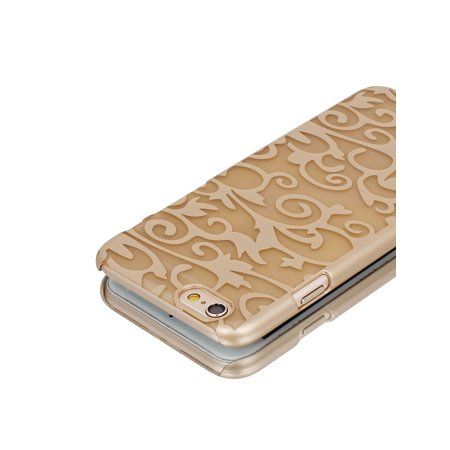 """Gold Tone PVC Ultra Thin Vintage Print Case Cover for iPhone 6 4.7"""" - image 4 of 6"""