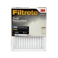 Filtrete 20x20x1, Clean Living Dust Reduction HVAC Furnace Air Filter, 300 MPR, Pack of 4 Filters