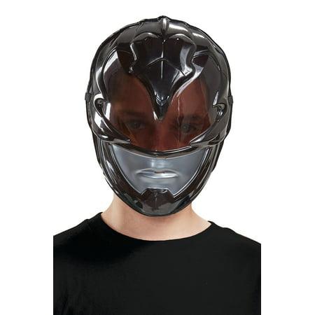 2017 Black Ranger Vacuform Child Mask (2017 Halloween)