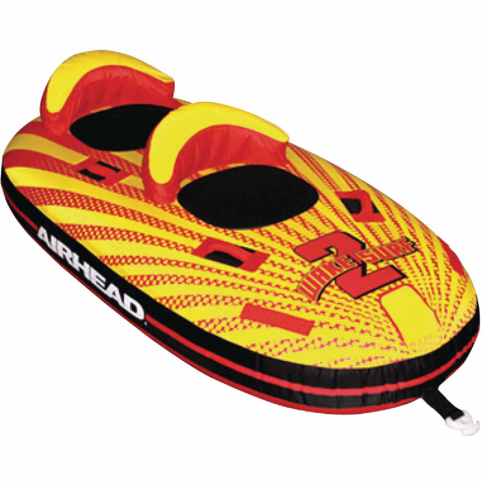 Airhead Wake Surf Inflatable Towable, Doubles as a Kayak by Kwik Tek