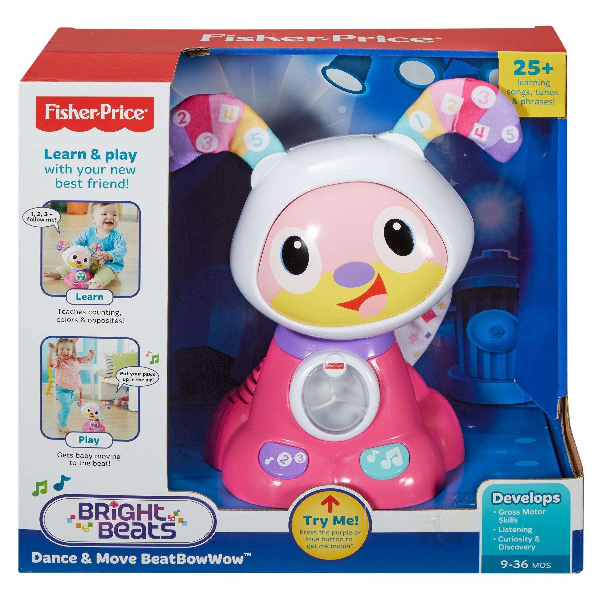 Fisher Price BeatBowWow Interactive Learning Toy Pink Walmart