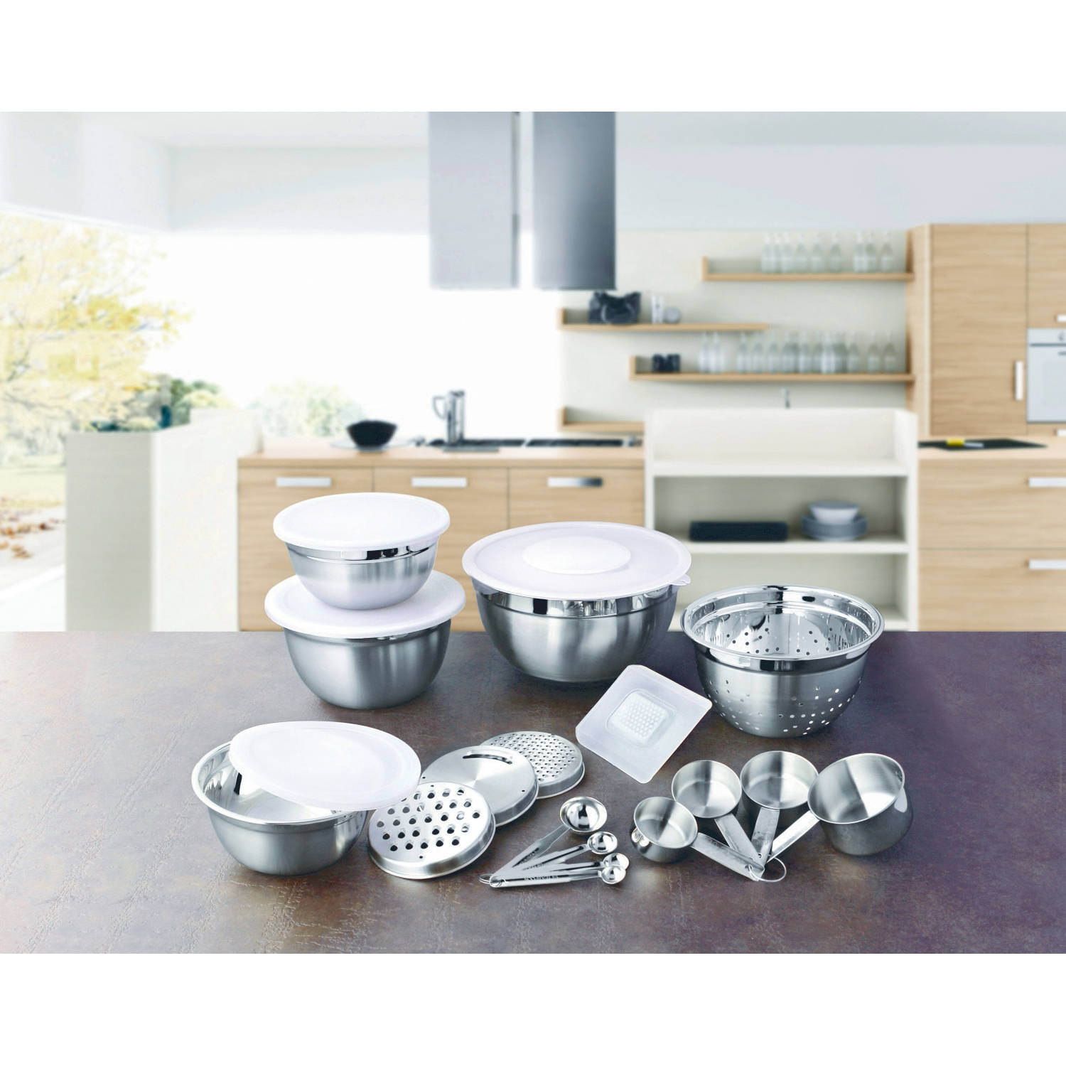 Better Homes And Garden 21 Piece Prep And Store Kitchen Set