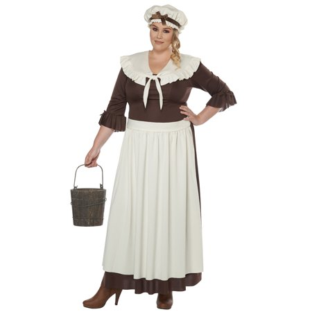 Costume Ideas For Three Women (Colonial Village Woman Plus Size)