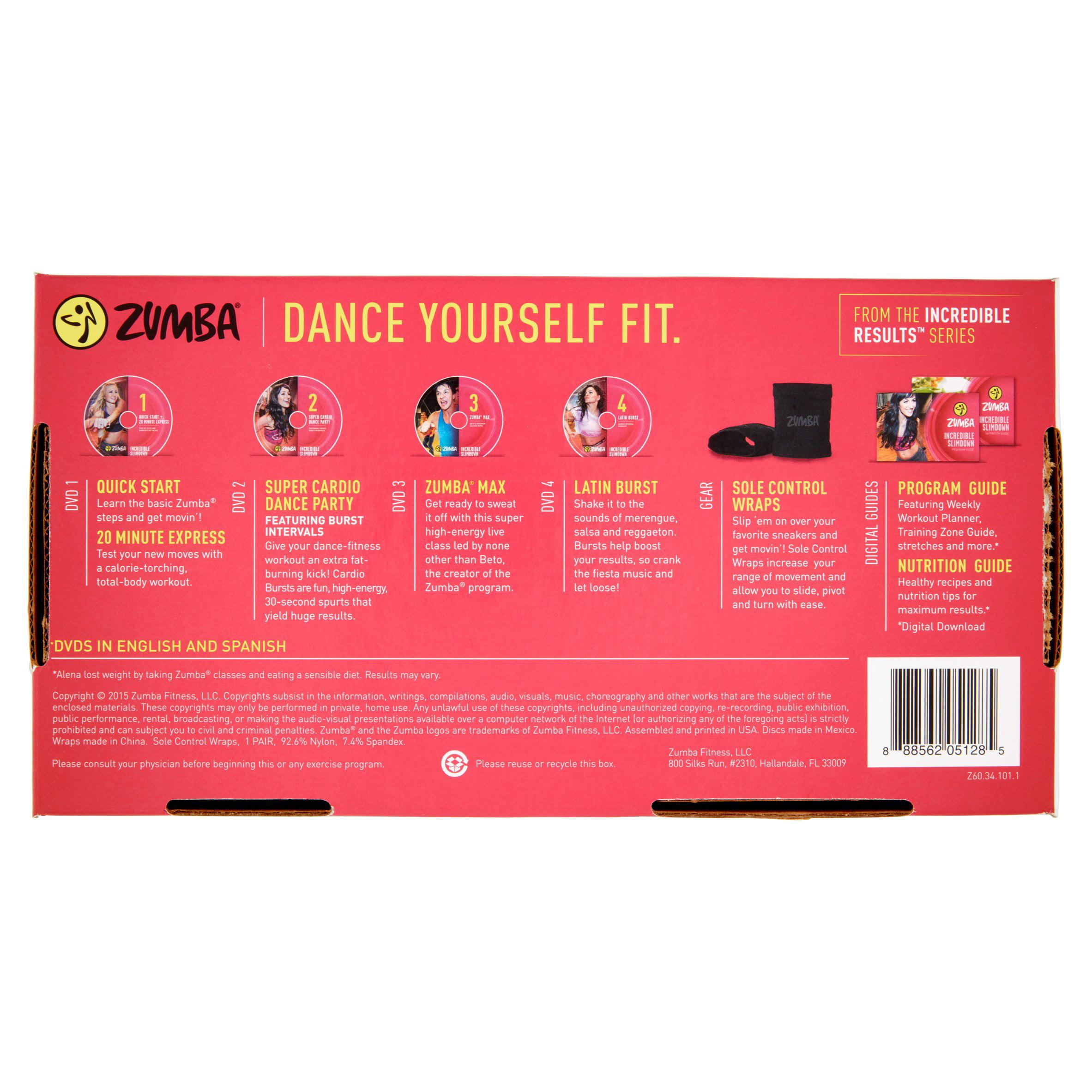 Zumba Incredible Slimdown Cardio Dance System - Walmart.com