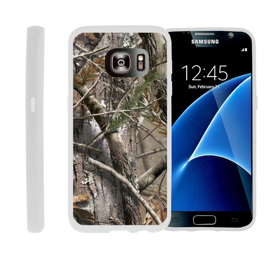 Flexible Case for Samsung Galaxy S6 Edge | SM-G925 Case [ Flex Force ] Lightweight Flexible Phone Case - Hunters Camouflage