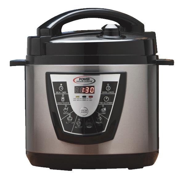 Power Pressure Cooker As Seen on TV Pressure Cooker Stainless Steel/Plastic