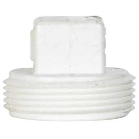 - Charlotte Pipe & Found PVC00106 1400HA Pvc/Dwv Cleanout Plug 6