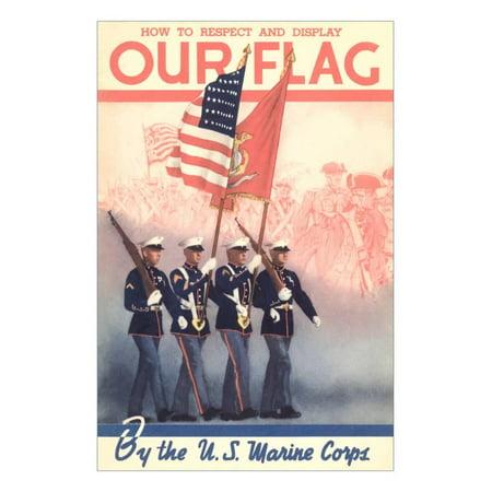 USMC Color Guard Print Wall (Print Guard)
