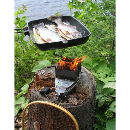 Supercharged Wood Biomass Cooking Stove