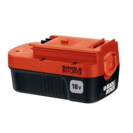 Black and Decker 18 Volt Single Source Battery FS18SSB (Black And Decker 18volt Battery)