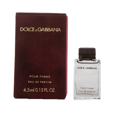 DOLCE & GABANNA POUR FEMME red .15 oz EDP Women's Mini Perfume Splash NEW (Dolce Gabanna Sale)