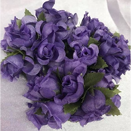Flower Picks (144 Poly Rose Silk Favor Flower Pick Wedding Shower -)
