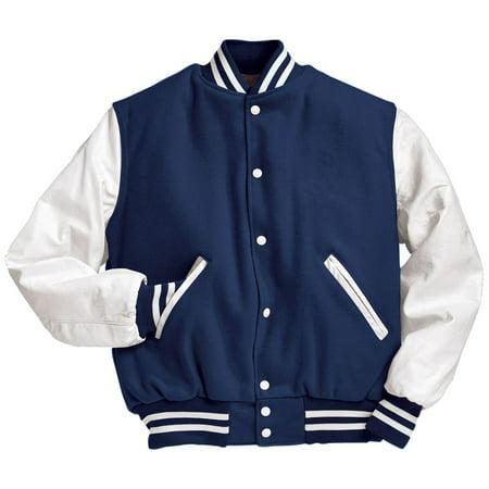Varsity Jackets Custom Made (Holloway Sportswear TALL VARSITY JACKET)