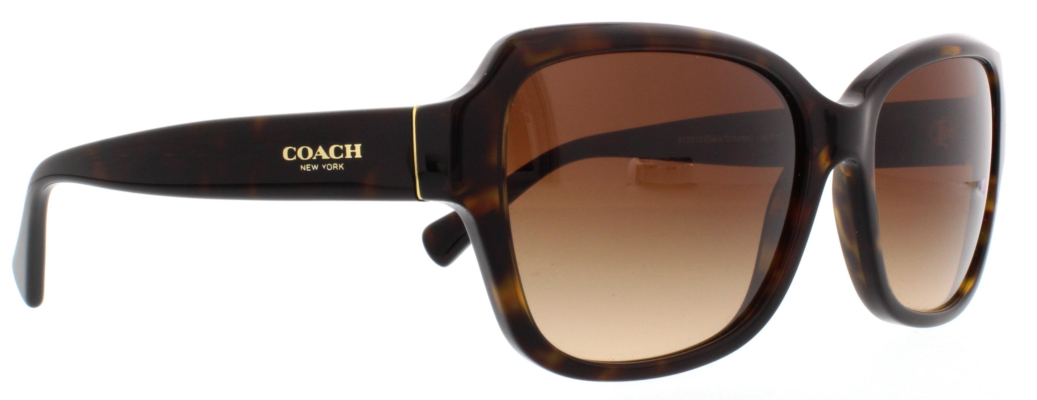 fdda46f768 Coach - COACH Sunglasses HC8160 512013 Dark Tortoise 56MM - Walmart.com