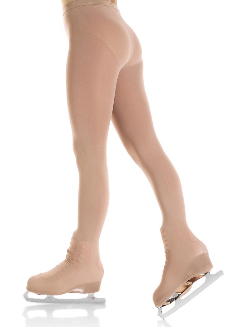 Mondor 3338 Evolution Over The Boot Figure Skating Tights (Suntan)