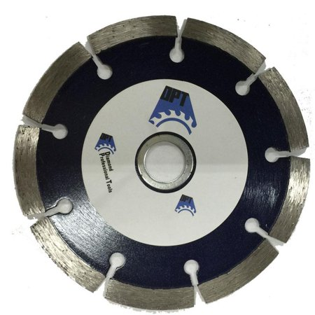 DPT 4-1-2 Inch Diamond Saw Blade Segmented Dry for Cutting , Concret, Light Weight Blocks, Bricks, Stone, and Masonry Materials, Super Plus - Diamond Block Saw