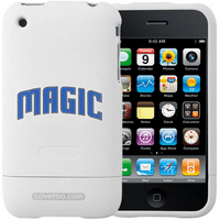 Orlando Magic White Team Name iPhone 3G Hard Snap-On Case