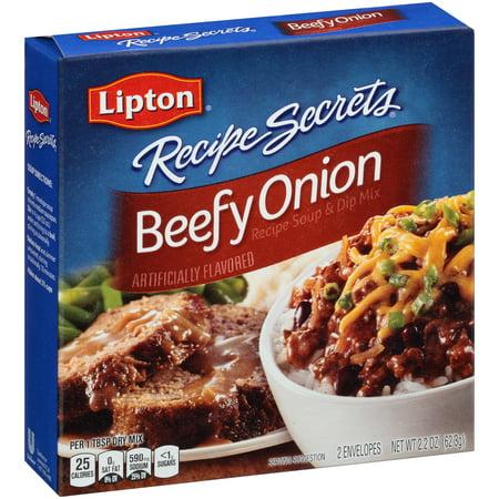 Lipton Beefy Onion Soup And Dip Mix 2 2 Oz